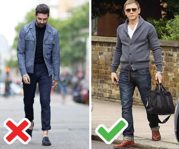 мужские джинсы подвернуть правильно