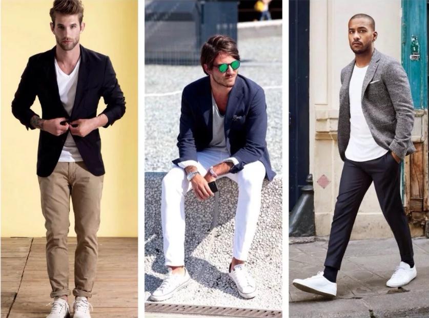 мужские джинсы подвернуть стиль белые кроссовики