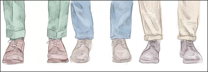 мужские джинсы подвернуть по правилам