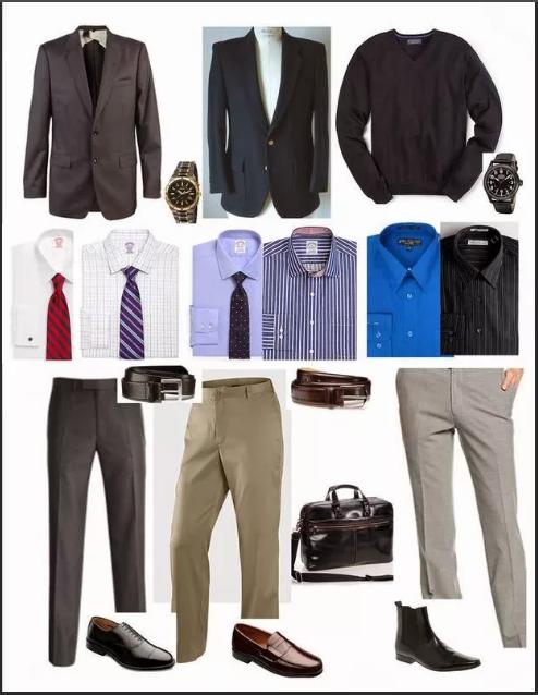капсульный гардероб мужской