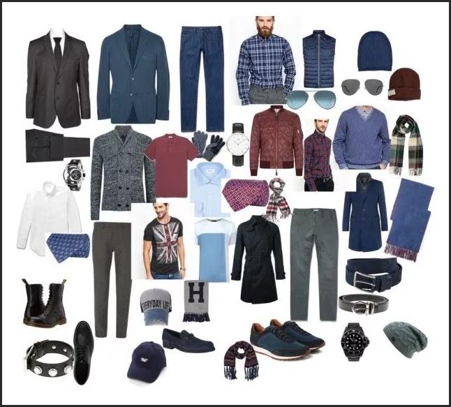 Капсульный гардероб базовые вещи мужские