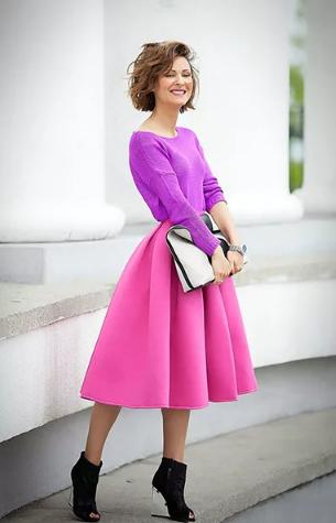 сиреневый цвет с розовым