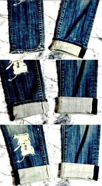 мужские джинсы подвернуть прямые