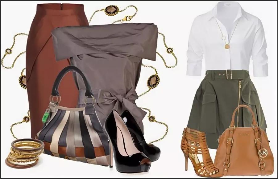серый и коричневый в одежде