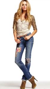 дискотека джинсы аппликация
