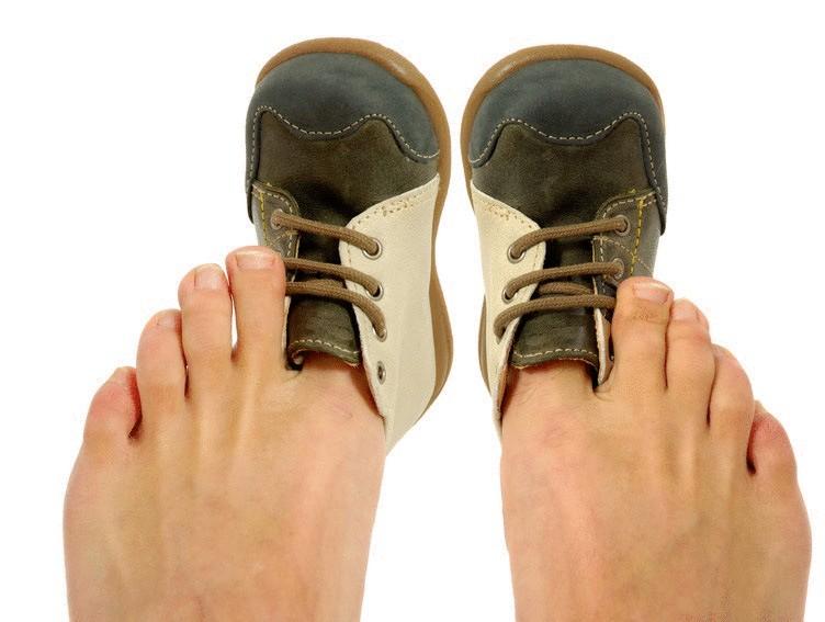 малая обувь