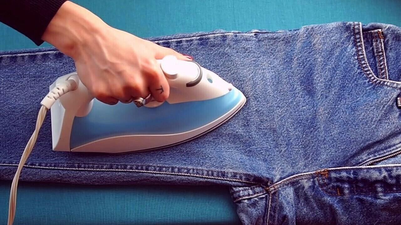 Нужно ли гладить джинсы и как это делать правильно