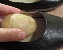 Зачем в обувь кладут картошку