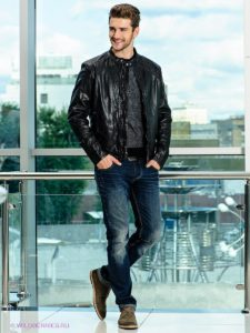 Как на мужчине должна сидеть куртка: джинсовая и кожаная