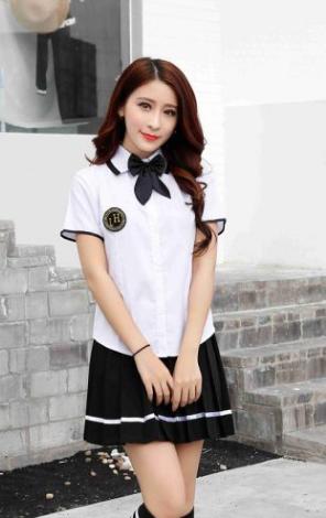 белая блузка для школы