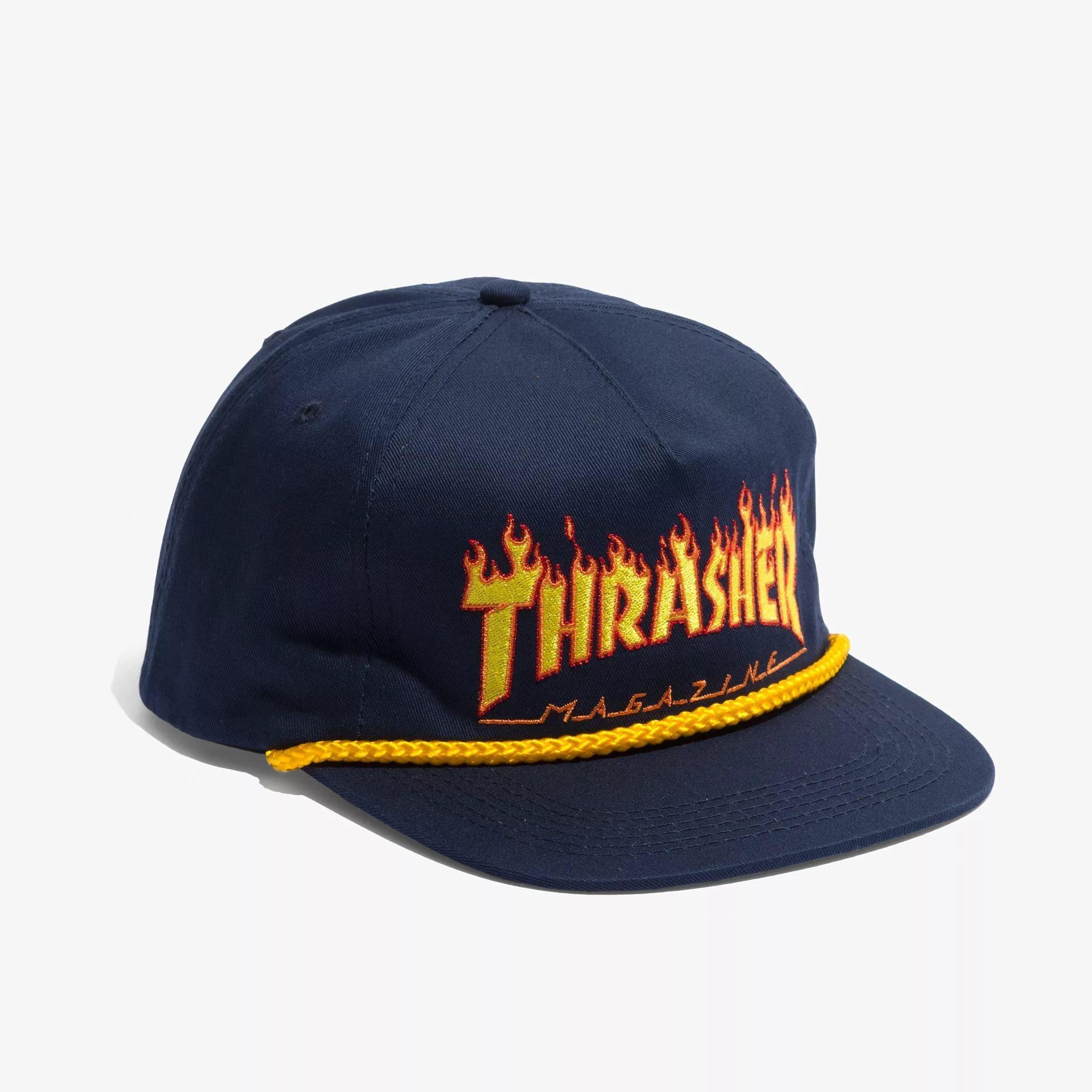 Футболки и кепки фирмы Thrasher