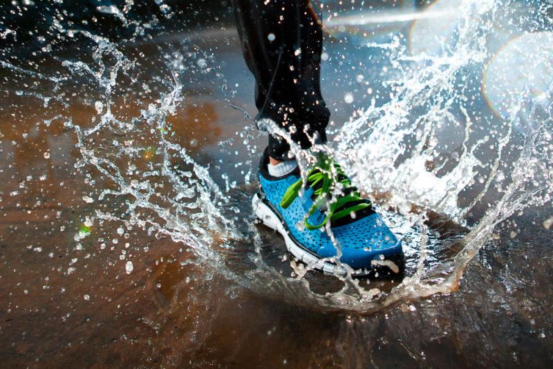 Как выбрать кроссовки, которые не промокают