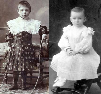 Зачем мальчиков раньше одевали в платья