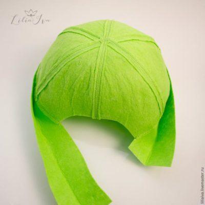 шляпка для костюма капусты