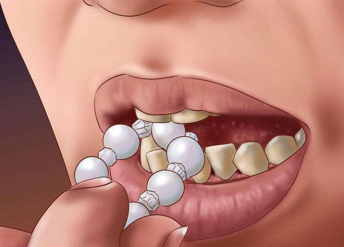 проверка на зуб