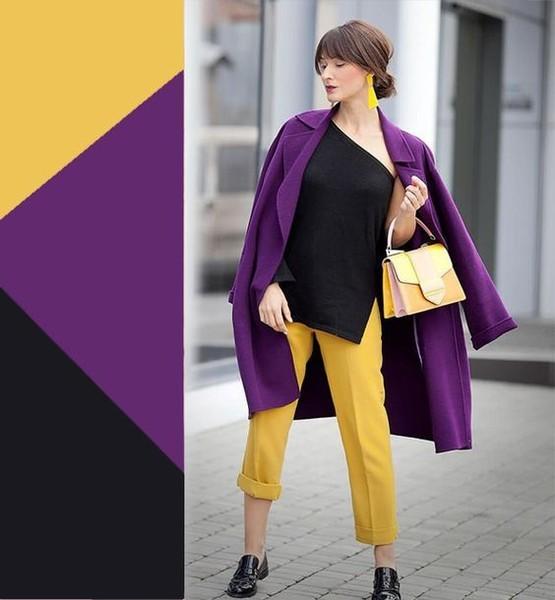 черный желтый фиолетовый