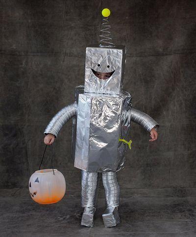 костюм марсианина из коробки