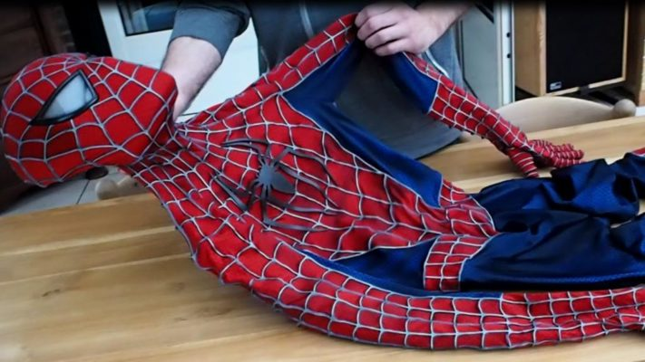 Как сделать костюм человека паука