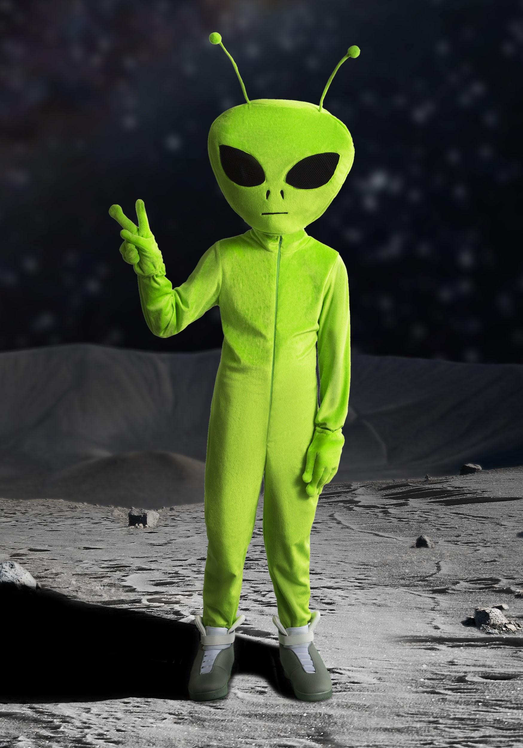 костюм инопланетянина