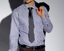 Мужские брюки и рубашка - как сочетать?