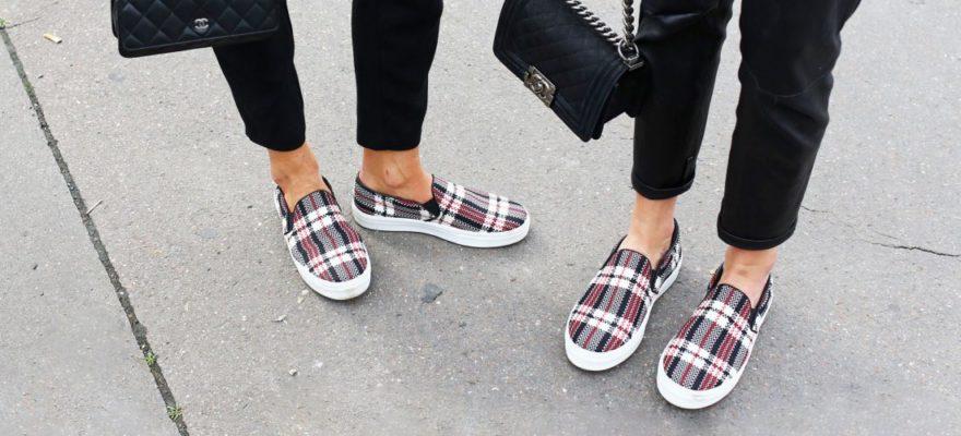 Слипоны: с носками или без