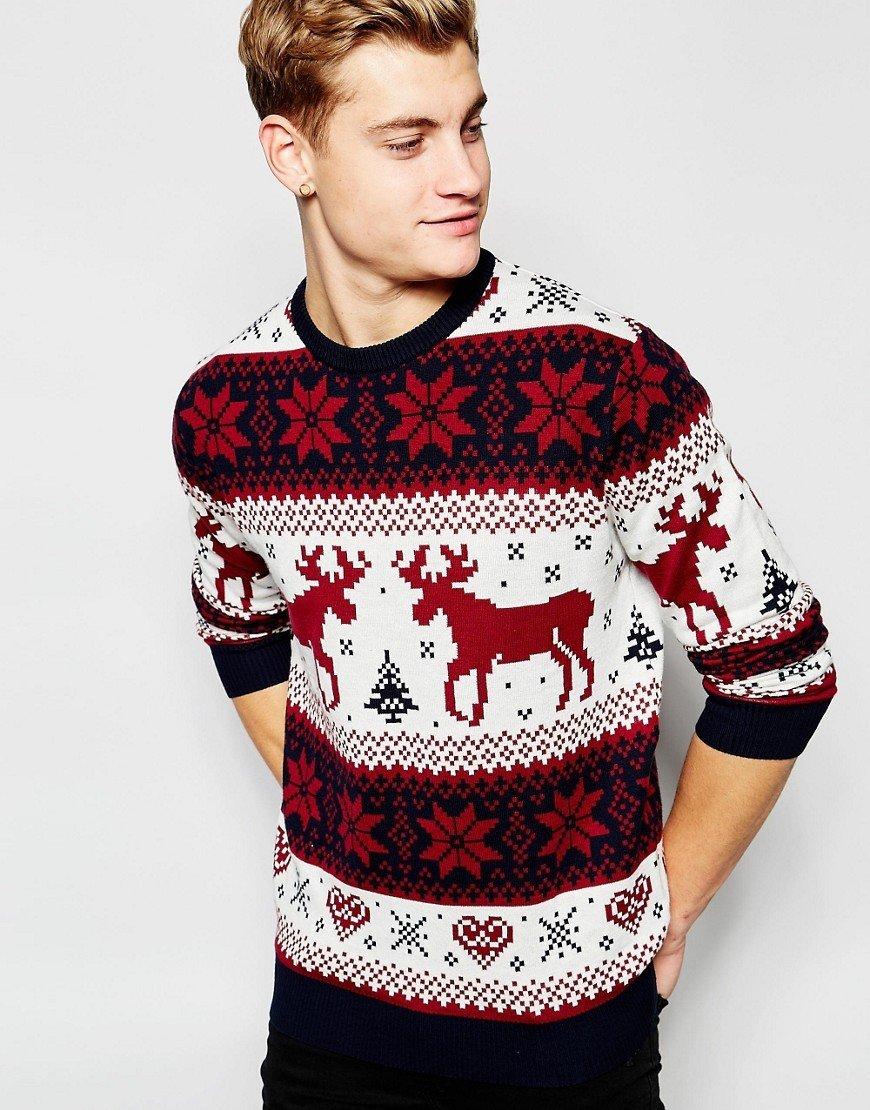 Олени, которые делают свитер модным