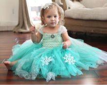 Платье снежинки своими руками