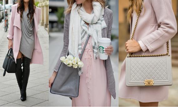 С розовым