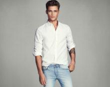 Как сочетать рубашку и мужские джинсы