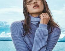 Почему свитер с высоким горлом нужно носить, как Ирина Шейк