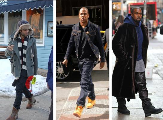 С чем носить тимберленды мужчинам