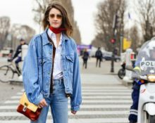 С чем сочетать джинсовую куртку
