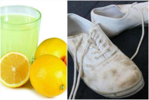 Как отбелить шнурки белые в домашних условиях