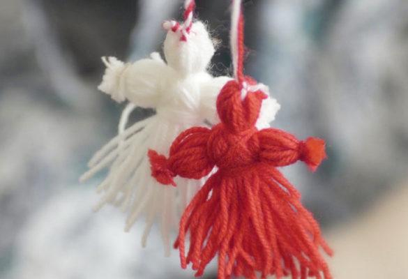 Ангел из ниток своими руками