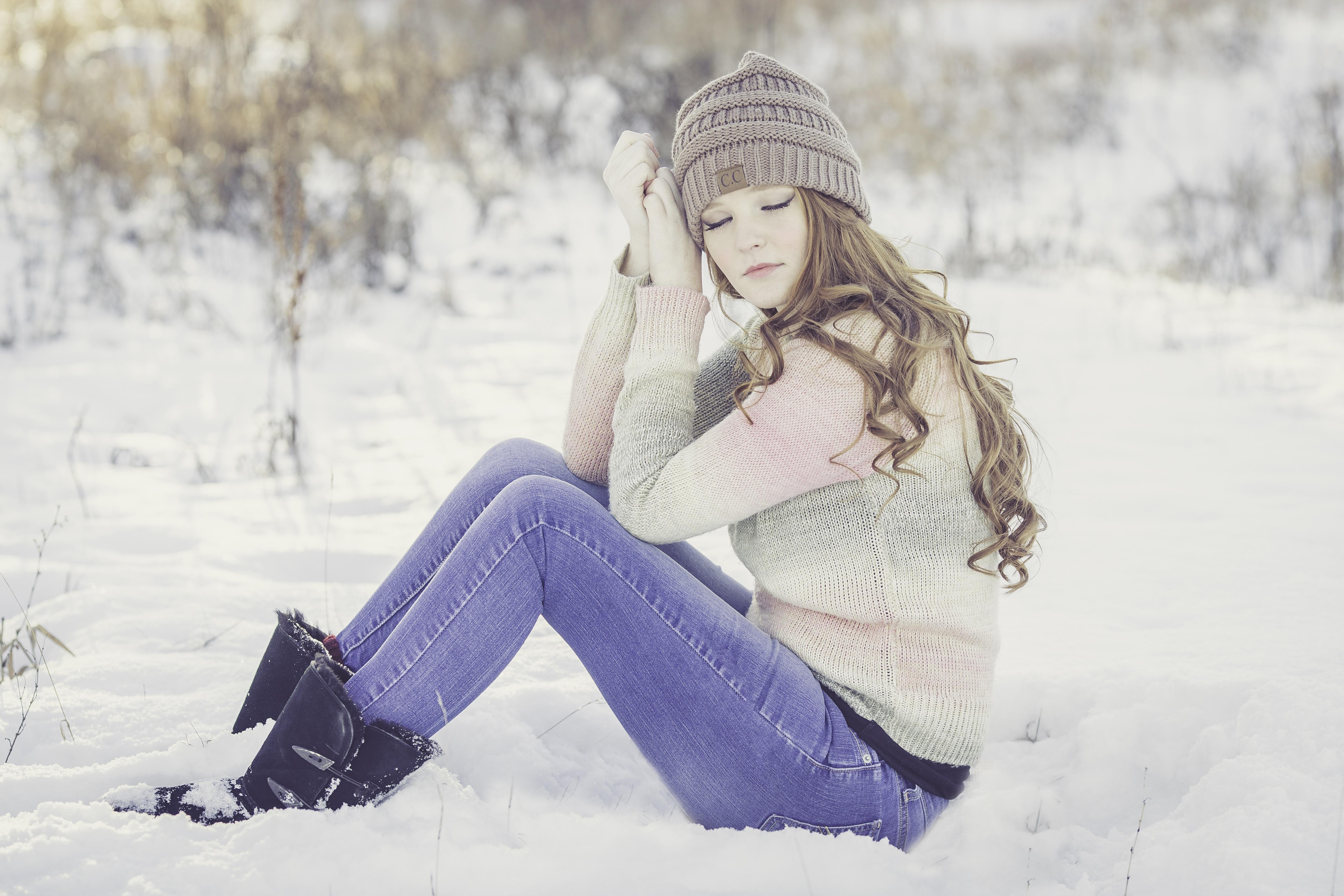 Что надеть зимой под брюки