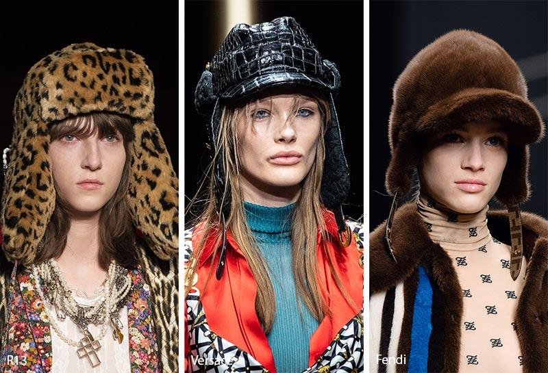 Модные головные уборы для зимы 2019–2020