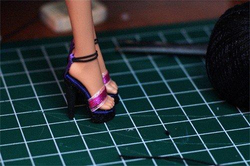 Как сделать туфли для Барби