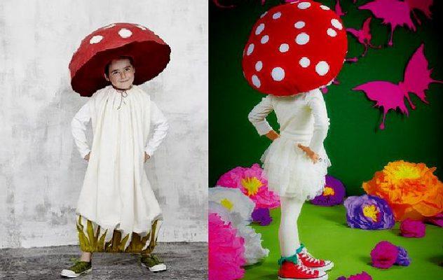 Костюм грибочка для мальчика своими руками