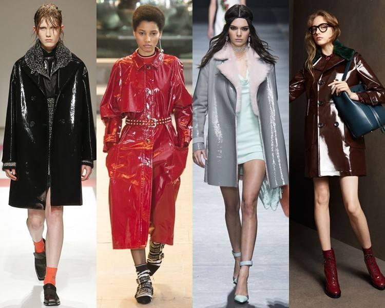 Винил — основной тренд сезона: что купить, с чем носить