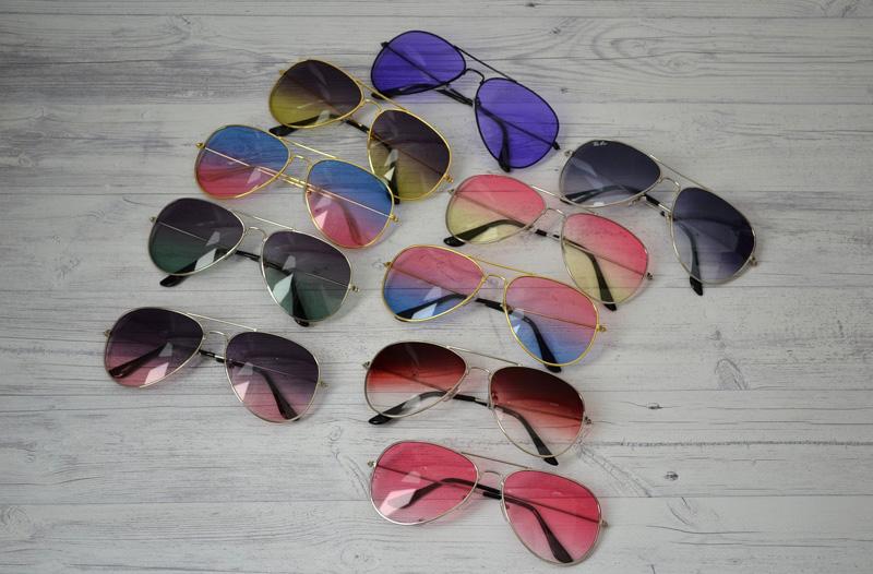 очки разных цветов