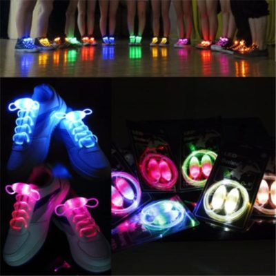 Как сделать светящиеся шнурки