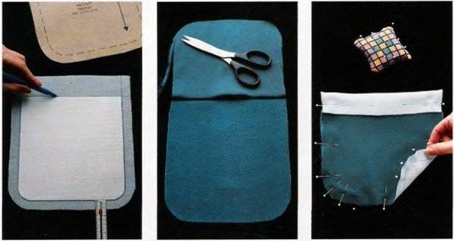 Как пришить накладной карман