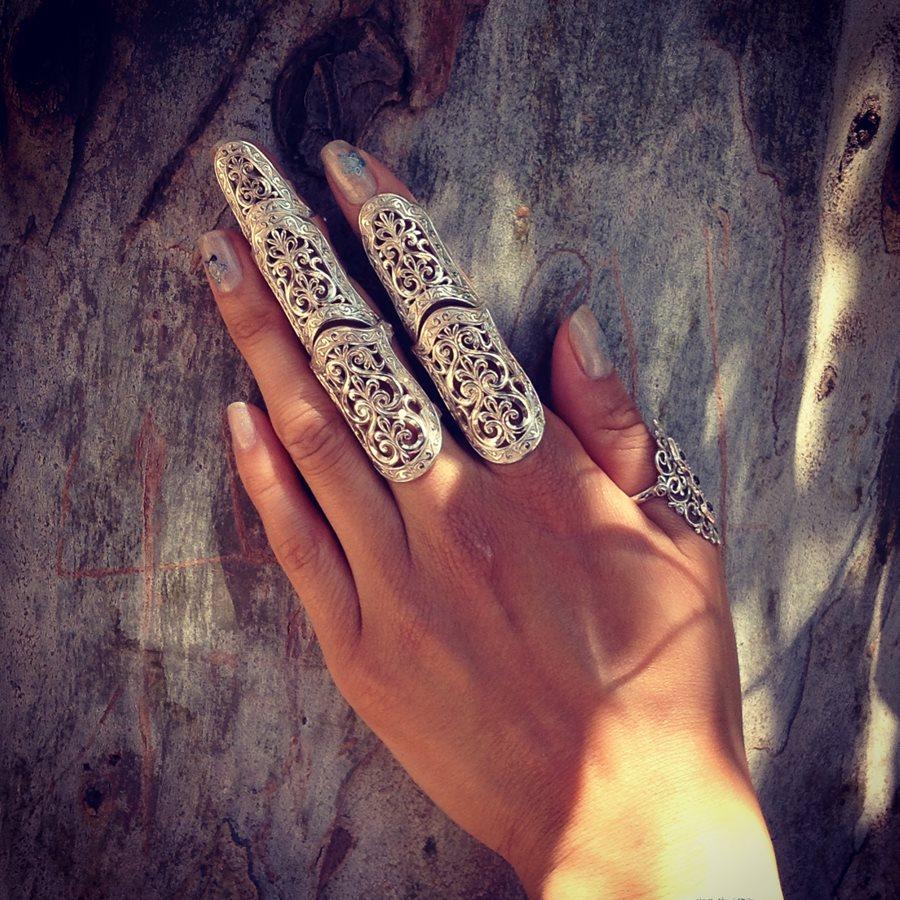 кольцо на весь палец как называется