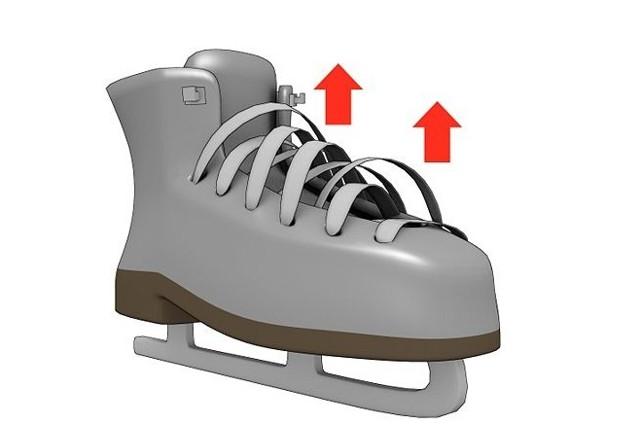 шнуровка конька