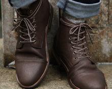 Шнуровка ботинок: варианты для длинных шнурков