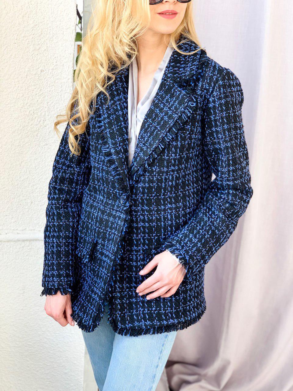пиджак из твида