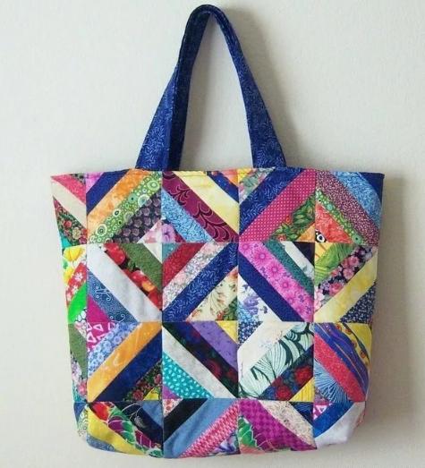 пляжные сумки пэчворк