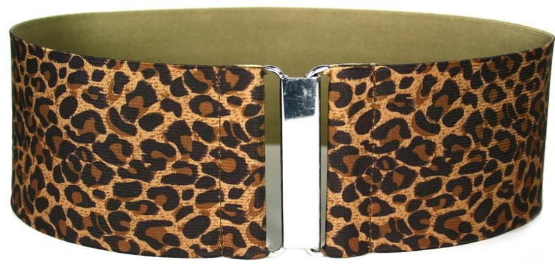 С чем носить леопардовый ремень? 5