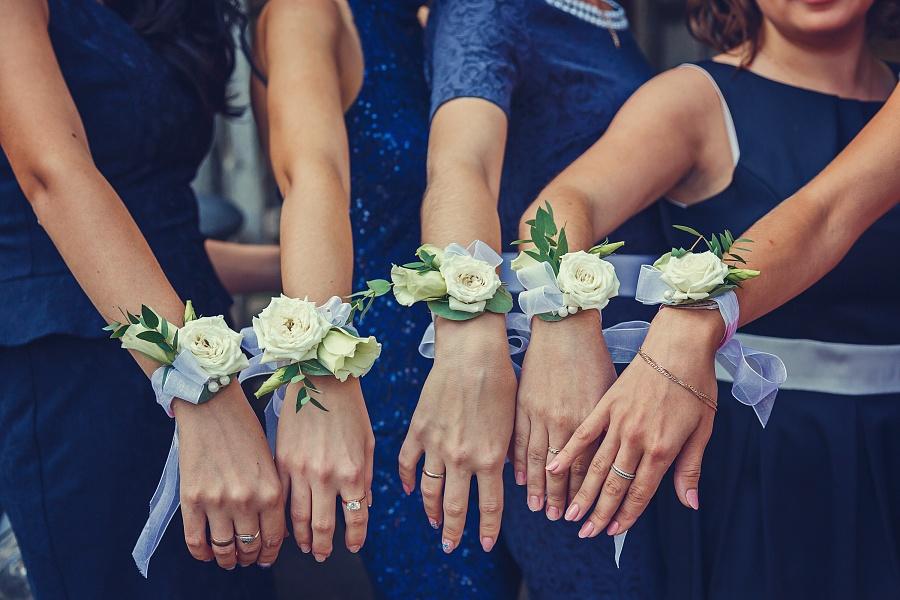 Как сделать браслет для подружек невесты самой 1