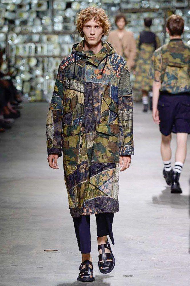 Камуфляж в одежде 2020